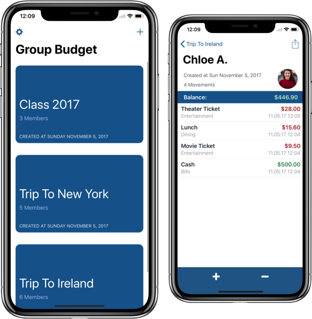 Group Budget App